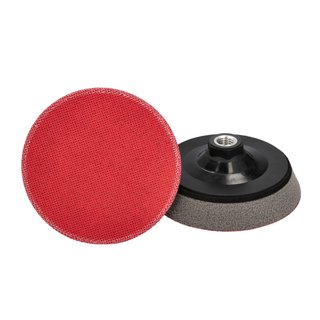 ProfiPolish velcro backing plate Ø 123 mm, damped M14